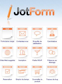 JotForm - удобный конструктор форм для сайта