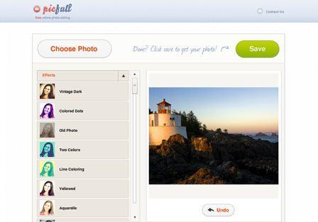 PicFull как работать в редакторе