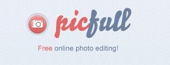 PicFull - бесплатный онлайн фоторедактор