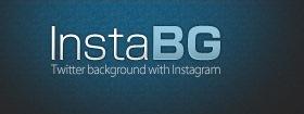 InstaBG - создаем свой фон для твиттера из instagram фотографий
