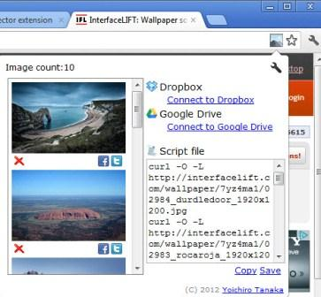 Image Coolector Extension