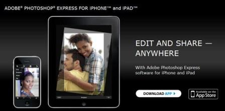 Photoshop Express for smartphones
