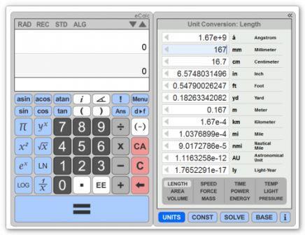 Ecalc онлайн калькулятор