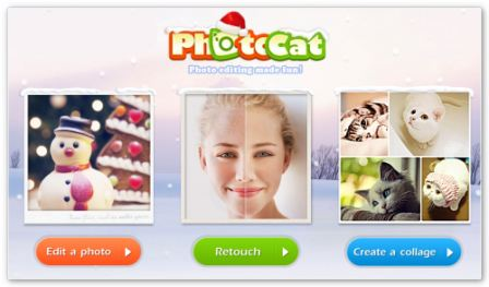 PhotoCat онлайн фотошоп