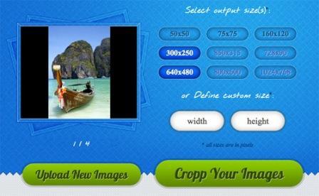 Кадрирование фото онлайн