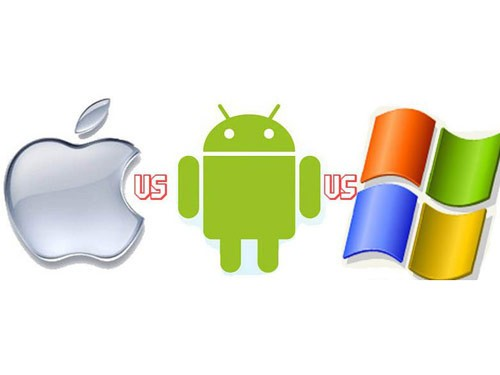 iOs,android,windows phone